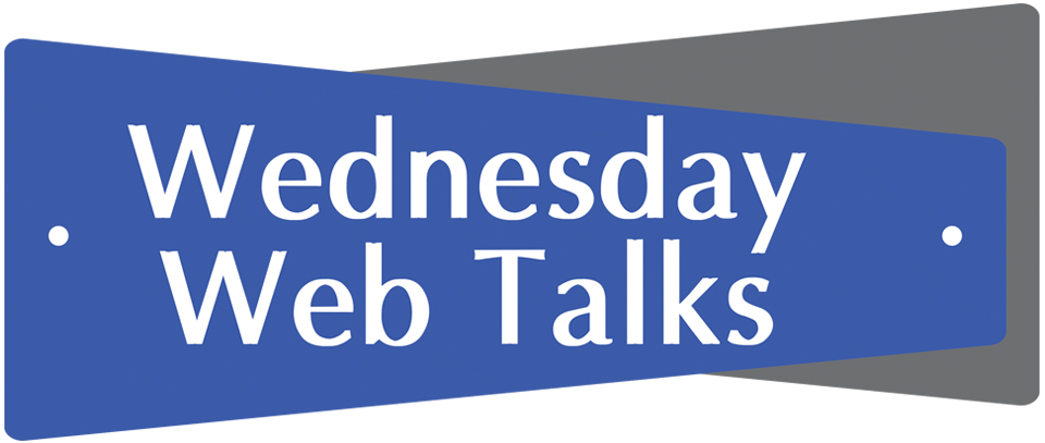 image Wednesday Web Talks