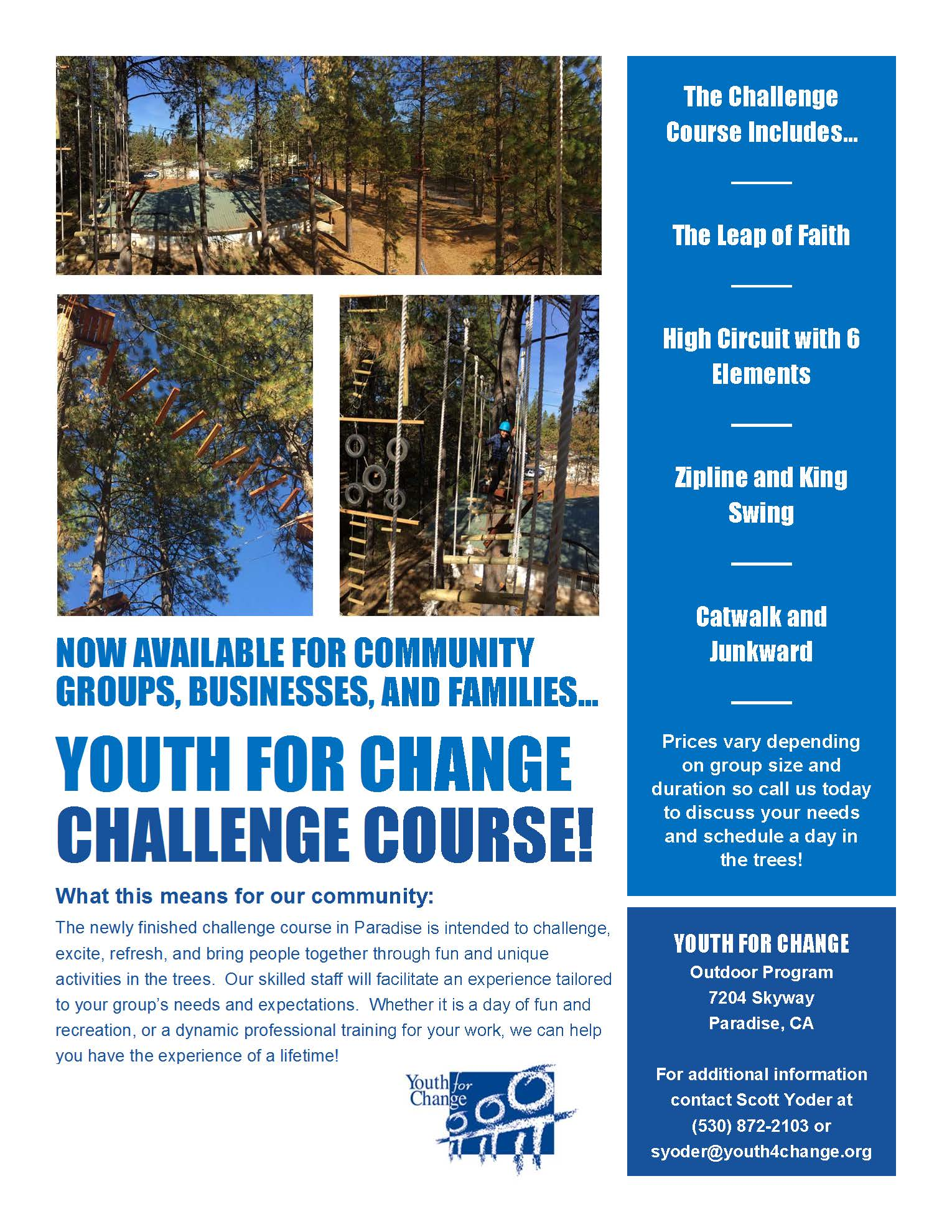 MC3-Challenge Course Flyer