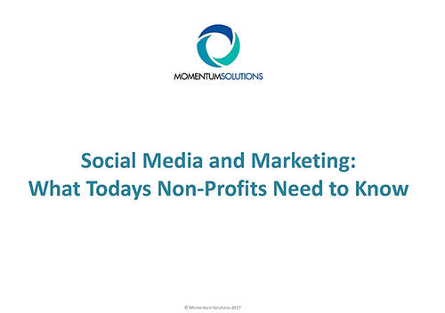 Social Media and Marketing ppt image
